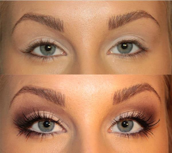 Natural Wedding Makeup Green Eyes : Permanente de c?lios: um charme para o olhar! - Sobrancelha